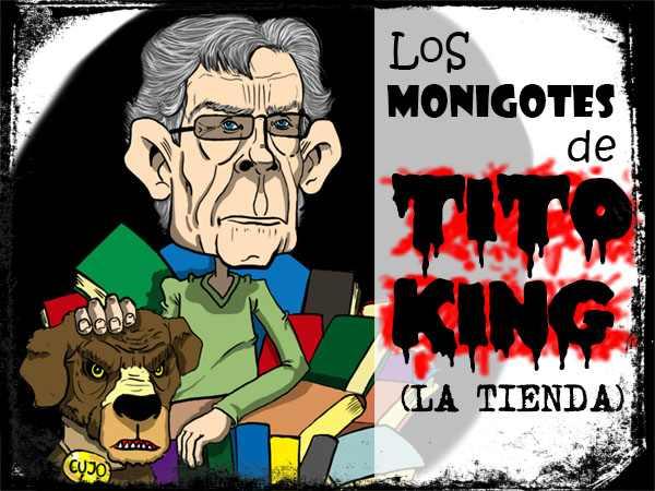 Cabecera del monigote de tito King de La Tienda