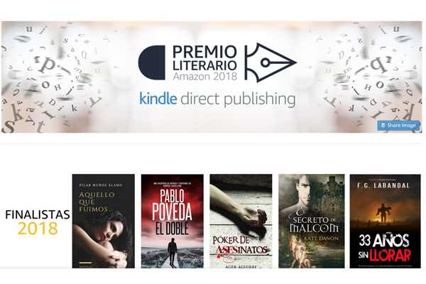 finalistas 2018 premio literario amazon