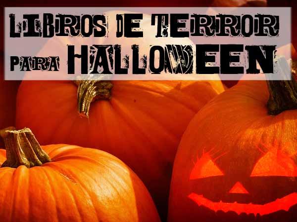 Libros de terror para Halloween