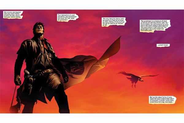 La Torre Oscura ha sido también adaptada al comic con gran éxito.